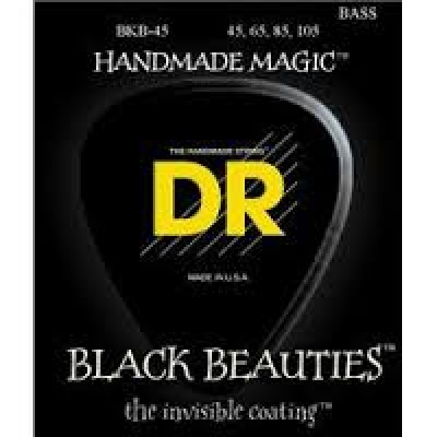 DR BKB-45 Black Beauties Electric Bass Strings