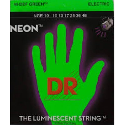 DR Hi-Def Green Neon electric  10 - 46