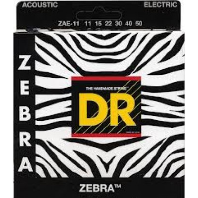 DR Zebra Electric-Acoustic light guage strings