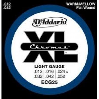 D`Addario ECG25 Chromes Electric Light