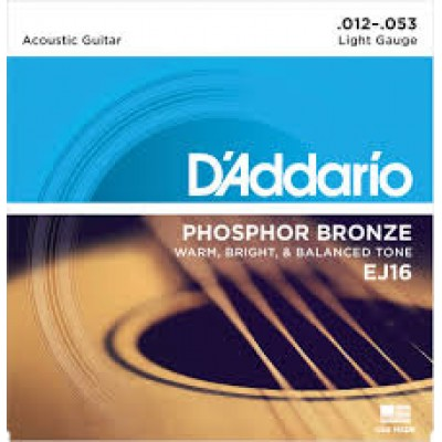 D`Addario Acoustic Phosphor Bronze Light EJ16