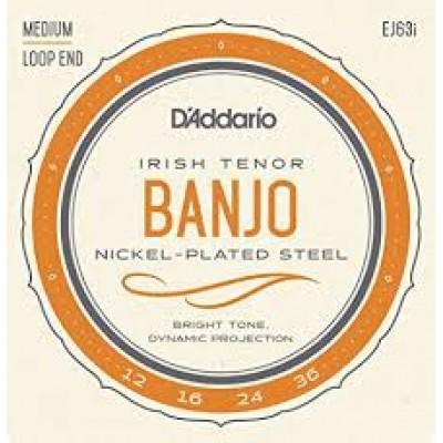 D`Addario Irish Tenor Banjo Medium EJ63i