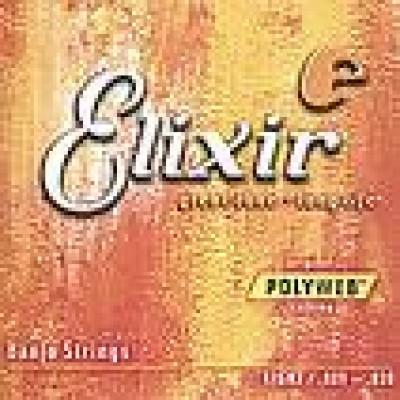 Elixir 5 String Banjo Light Polyweb