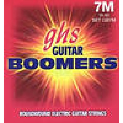 GHS 7M 7 string Guitar Boomers
