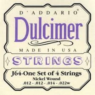 D'Addario Dulcimer J64
