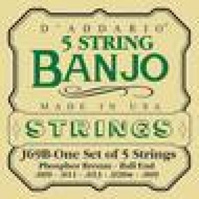 D`Addario J69B Ball end Banjo strings