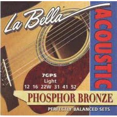 LaBella Acoustic Phosphor Bronze 7GPS