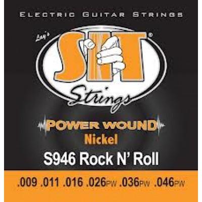 SIT Power Wound Rock n' Roll .009 - .046