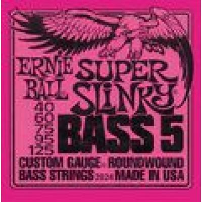 Ernie Ball Super Slinky 5 string Bass