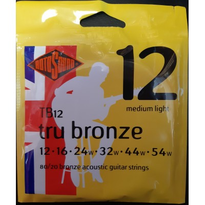 Rotosound Tru Bronze Acoustic Medium Light