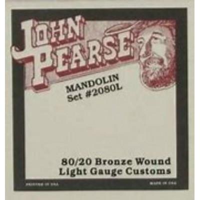 John Pearse Mandolin 80/20 Bronze Set #2080L