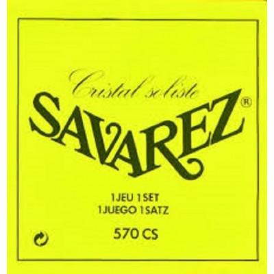 Savarez Cristal Soliste Classical Guitar Super High Tension 570CS