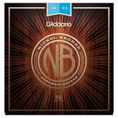 D'Addario Nickel Bronze Acoustic Light