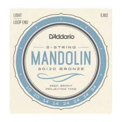 D`Addario 8 string Mandolin EJ62