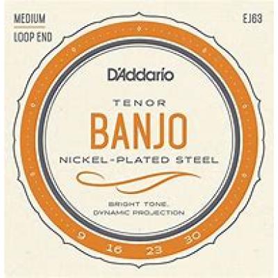 D`Addario Tenor Banjo Medium Loop End EJ63