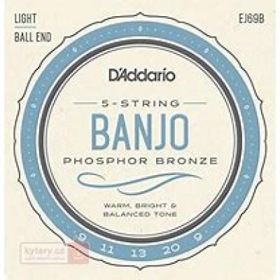 D`Addario Light Ball End Banjo 5 Strings EJ69B