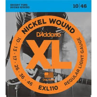 D`Addario Electric XL Regular Light EXL110