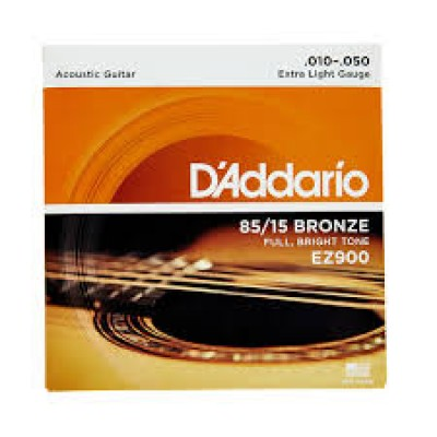 D`Addario Acoustic 85-15 Bronze Extra Light EZ900
