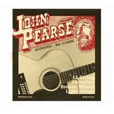John Pearse 12 string Phosphor Bronze Light