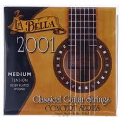 LaBella 2001 Classical Guitar Concert Series Medium Tension