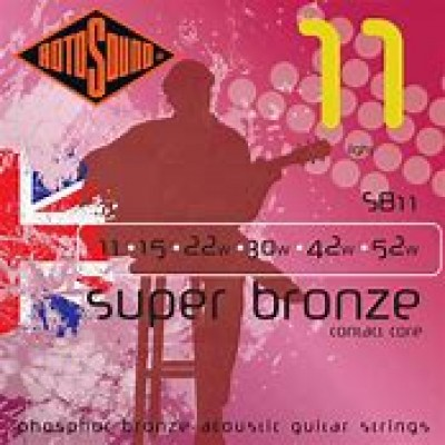 RotoSound Super Bronze Acoustic guitar Light
