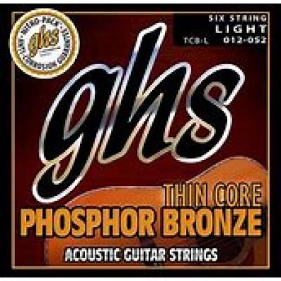 GHS Acoustic Phosphor Bronze Thin Core light