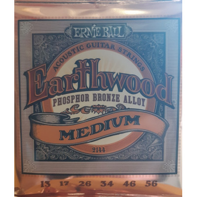 Ernie Ball Earthwood Acoustic Phosphor Bronze Medium
