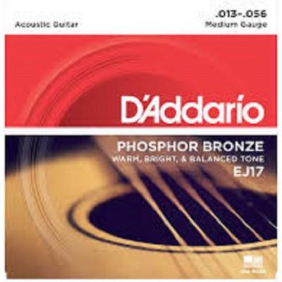 D`Addario Acoustic Phosphor Bronze Medium EJ17