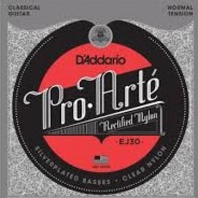 D`Addario Pro-Arte Rectified Nylon Classical Guitar Normal Tension EJ30