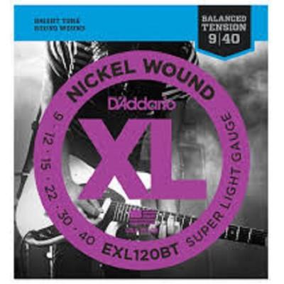 D`Addario Electric XL Super Light EXL120BT