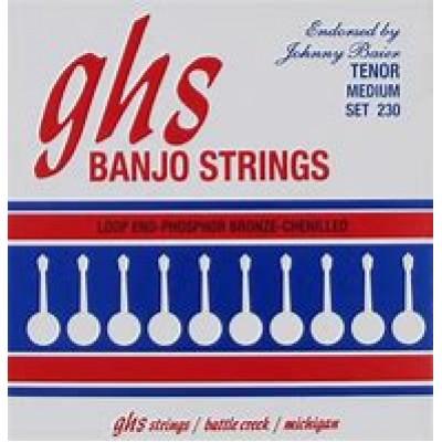 GHS Tenor Banjo Strings Medium