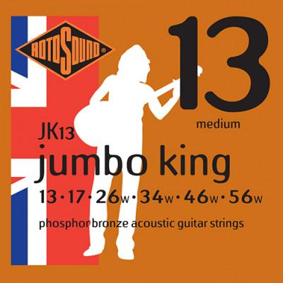 RotoSound Jumbo King Phosphor Bronze Acoustic guitar Medium