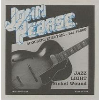 John Pearse Acoustic/Electric Jazz Light