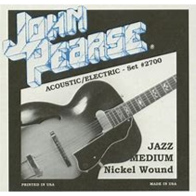 John Pearse Acoustic/Electric Jazz Medium