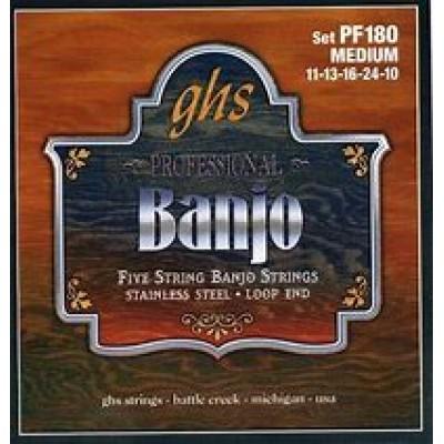 GHS 5 String Banjo Medium