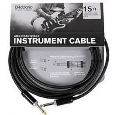 D'Addario American Stage Instrument Cable - 15 ft.