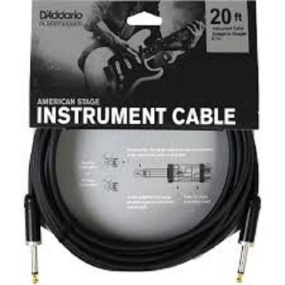 D'Addario American Stage Instrument Cable - 20 ft.