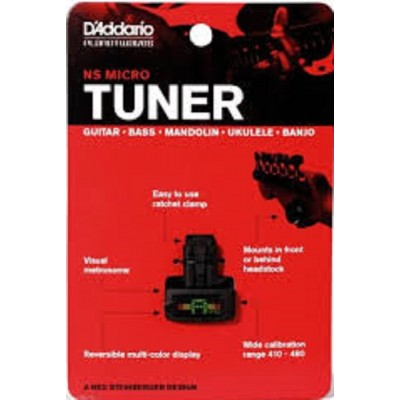 D'Addario NS Micro Tuner PW-CT-12