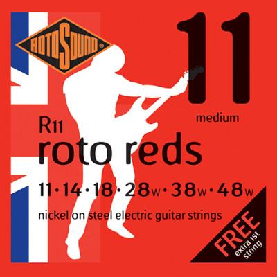 Roto Red Medium Electric .011 - .048
