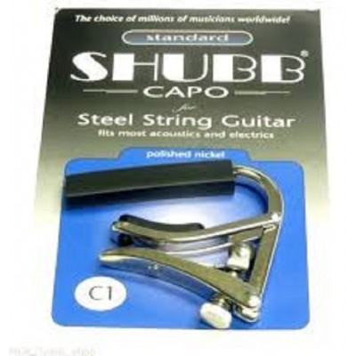 Shubb Steel String Guitar Capo C1